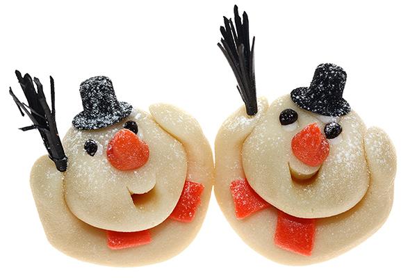 Marzipan Weihnachten